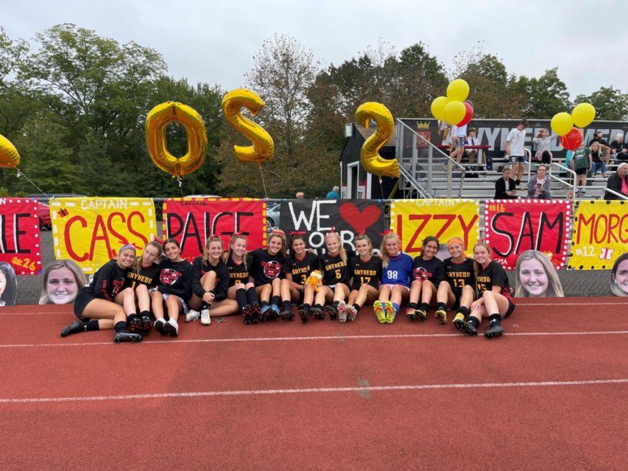 Soccer Celebrates Their Seniors